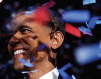 Bookmark Design to Commemorate Obama's Second Term