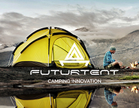 Futurtent Camping Innovation - Logo For Sale