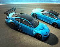 BMW /// DM PERFORMANCE BLUE LIVERY*