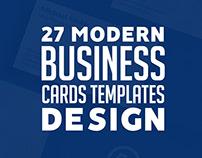 Business Cards Modern Design