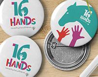 16 Hands brand logo
