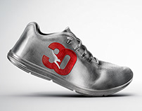 Qantas 30th Shoe - CGI