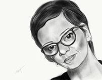 Self Portrait - Adobe Photoshop Sketch