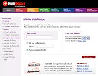 Área logada da WebMotors