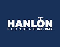 Hanlon Plumbing Inc. 1942 Web & Rebranding
