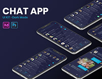 Online Chat App UI/UX Design