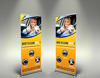 Driving School Signage Template