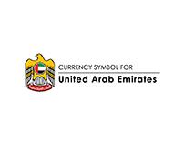 Currency Symbol of United Arab Emirates