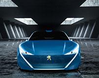 Peugeot Instinct concept Concrete