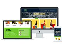 Hopps House Brewery Responsive Website