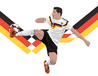 Current Players x Germany 1990 11TeamSports