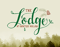 The Lodge at Gunter Hollow Branding