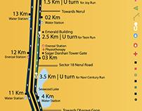Navi Mumbai Mayor's Marathon Event Branding