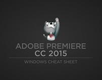 Adobe Premiere Pro CC 2015 windows cheat sheet