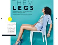 Them Legs-Grazia, May 2017.