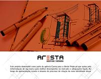 Identidade visual - Projeto Aresta