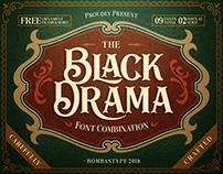 Black Drama ( FREE FONT )