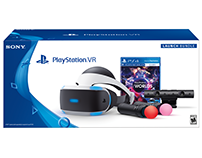 PlayStation VR Worlds Bundle Packaging Design