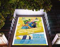 Lake july poster
