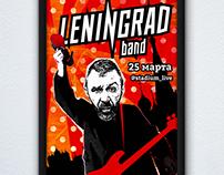 Leningrad band poster