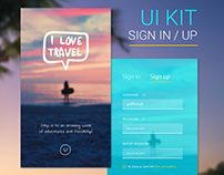 UI Kit Sign in/up