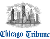 Chicago Tribune Header Illustrated by Steven Noble