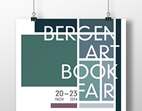 Bergen Art Book Fair poster