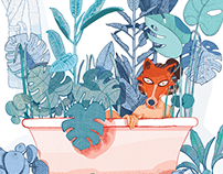 Personal illustrations - I want to be like fox