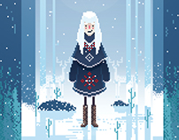 Winter PixelArt