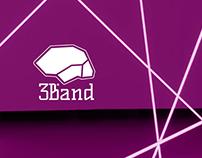 3Band - Brand Identity
