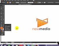 Logo design tutorial #2 (NewMedia)