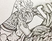 Ilustração cuscobayo