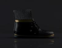 3d modelling rendering for bad soles