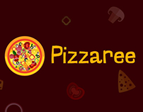 Pizzaree Logo Design