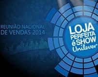 RNV Reunião Nacional de Vendas Unilever