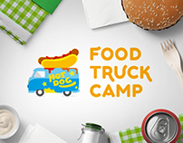 Food Truck Camp Logo