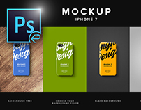 Iphone 7 Clear Case Mockup PSD