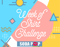 [SODAPOP] Week of shirt challenge