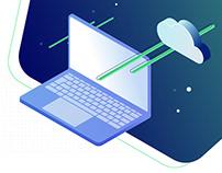 Technology Company Website Design One