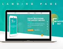 Landing Page - Application