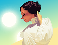 Princess Leia (Carrie Fisher tribute)