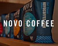 NOVO Coffee :: Ecommerce Design