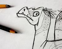 DinoPájaros // DinoBirds // Character Design