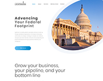 Modern & Clean Layout for an advisory firm