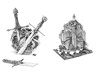 Manic Pixie (Book Design and Illustration)