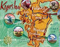 Kyushu, Japan: National Geographic Traveller Magazine