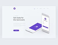 Barnes Landing Page concept