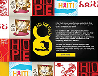 8 FOR HAITI - Interactive Campaign for a social cause
