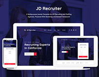 JD Recruiter - HR Consulting Agency Joomla Template