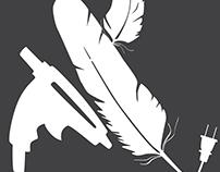 Feathers & A Glue Gun Logo